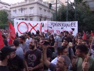 Tension Rises in Greece