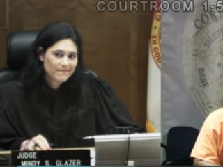 Judge, School Classmate Have Emotional Reunion in Court