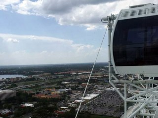 400-Foot Orlando Eye Ferris Wheel Stops, Stranding 66 Riders