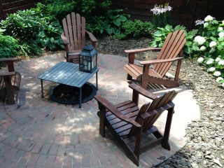 Backyard Beauty! Create Your Own Brick Patio