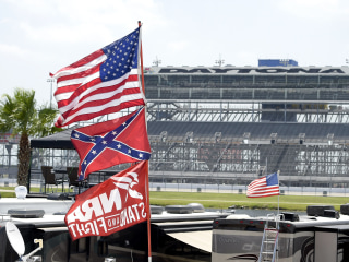 NASCAR Fans Defend, Display Confederate Flag at Daytona