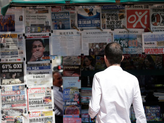 Oxi: Greece Reacts to Historic Bailout Referendum