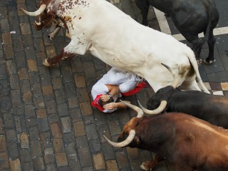 Pamplona's San Fermin Bull Running Festival: Two Americans Gored