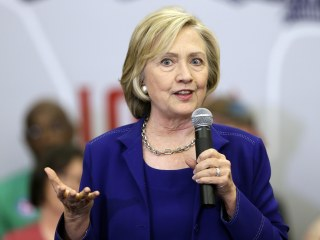Hillary Clinton Welcomes Competitive Democratic Primary