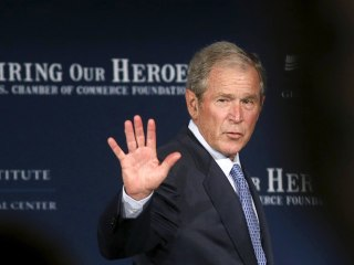 Former President George W. Bush Was Paid $100K to Speak to Veterans Group
