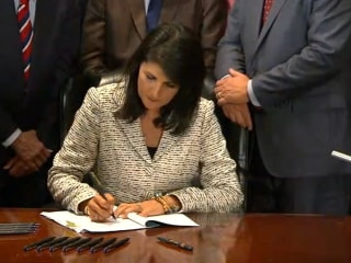 Nikki Haley Calls Extra Political Attention 'Painful'