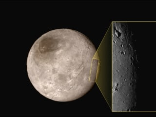 New Horizons Team Shares a Fresh Slice of Charon, Pluto's Biggest Moon