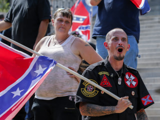 KKK Rallies at South Carolina Statehouse in Defense of Confederate Flag