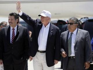 Laredo, TX Latinos Debate Donald Trump Visit