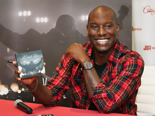 Tyrese Tops Charts, Says Hits Face Black Out