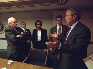 Newly Released Photos Show Cheney, Bush in Tense Moments After Sept. 11 Attacks