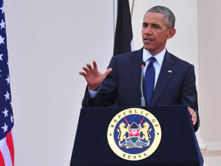 Obama Pushes for Gay Rights While in Kenya, Father's Homeland