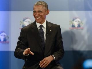 President Barack Obama Makes Birth Certificate Joke on Kenya Trip