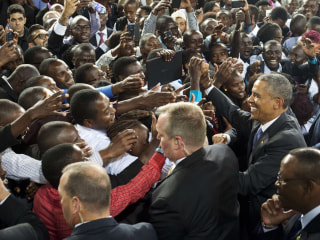 Kenya Welcomes Obama with Open Arms
