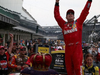 Kyle Busch Wins Brickyard 400 for Weekend Sweep at Indianapolis