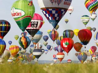 Hot-Air Balloon Record Blown Away Over France