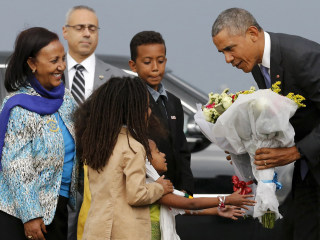 Obama Becomes First U.S. President to Visit Ethiopia