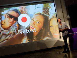 Yahoo Unveils Silent Video Messaging App 'Livetext'