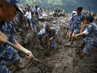 Landslide Close to Popular Trekking Route Kills 30 Near Pokhara, Nepal
