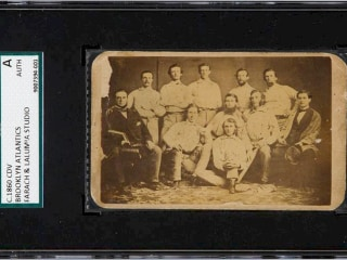 Rare Pre-Civil War Baseball Card Fetches $179,250 at Auction