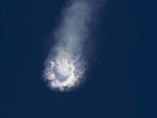 Air Force Closely Monitoring Probe of SpaceX Falcon 9 Rocket Explosion