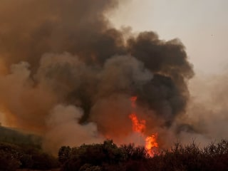 Firefighter Dies Battling Wildfire in California