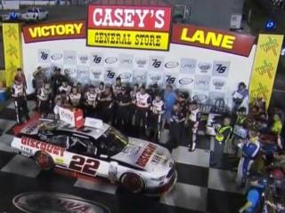 Ryan Blaney Wins NASCAR Xfinity Race at Iowa on GWC Finish