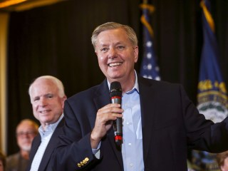 Lindsey Graham Gets Help From McCain, Hopeful About Race