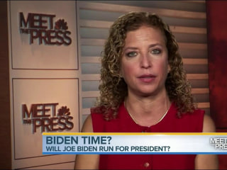 Joe Biden 2016? Debbie Wasserman Schultz Says 'There Will Always Be Room' for Bid
