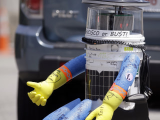 HitchBOT, Hitchhiking Robot, Meets Demise in Philadelphia After Two Weeks in U.S.