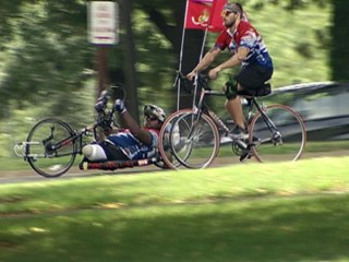 Double Amputee Marine Completes Cross Country Journey