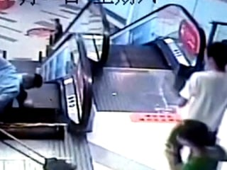 Worker Loses Foot in China's Third Escalator Accident in a Week