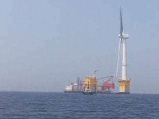 Japan Builds World's Largest Floating Wind Turbine off Fukushima