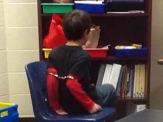 Disabled Elementary Students Shackled for Misbehaving, Lawsuit Claims