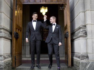 Daniel and Larry Lennox-Choate, First Gay Couple Married at West Point, Attacked in NYC