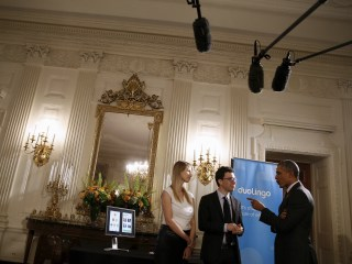 Obama Admits to Bad Spanish As He Gets Language Learning App Demo