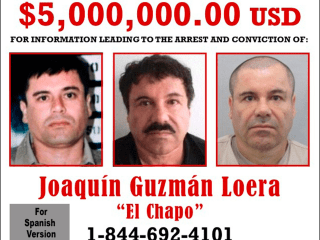Joaquin 'El Chapo' Guzman: U.S. Offers Reward for Escaped Drug Kingpin