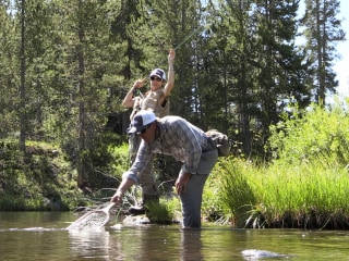 Female Cancer Survivors Bond Over Flyfishing in Wyoming