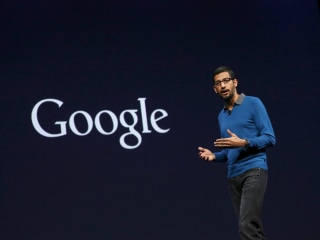 Google CEO Cites Shift From a Mobile World to an AI World