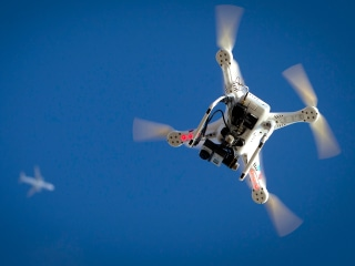 Police Seize Drone After Man Flies It Near LAPD Chopper in Hollywood