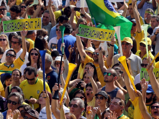 Brazilian Protesters Keep Pressure on President Dilma Rousseff