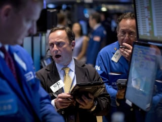 Stocks Record Worst Monthly Decline in More Than Three Years