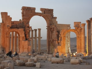 ISIS Blows Up Roman-Era Temple in Syrian City of Palmyra