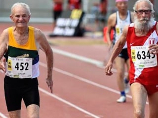 One Of Peru's Best Sprinters Is Still Good - At 91