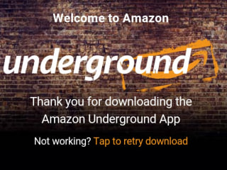 Amazon Strikes Back at Google with 'Underground' App Store