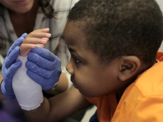 Boy Leaves Hospital With New Hands