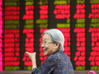 China Stock Market Jumps 5.3 Percent as Asia Echoes Wall Street Rebound