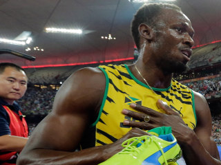 How Do You Slow Usain Bolt? Run Him Over With a Segway