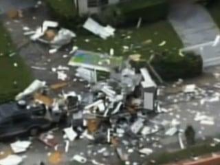 Food Truck Explodes, Sends Debris Flying 100 Feet