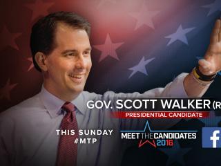 Sunday on MTP: Scott Walker